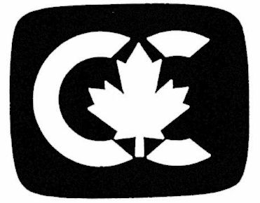 Closed Captioning symbol with a maple leaf